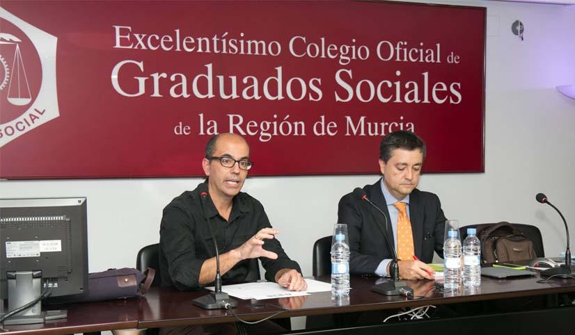 Apertura del III Foro Atenea Fiscal de los Graduados Sociales de la Regional de Murcia