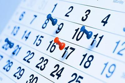 Se hace oficial el calendario laboral para 2017 en la Región de Murcia