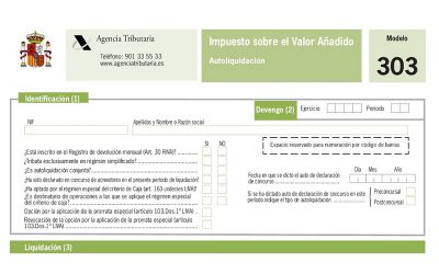 Hacienda lanza el borrador de IVA para ayudar a las pymes