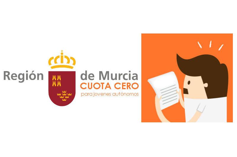 Ayudas a autónomos en Murcia: cuota cero para parados de larga duración mayores de 30 años