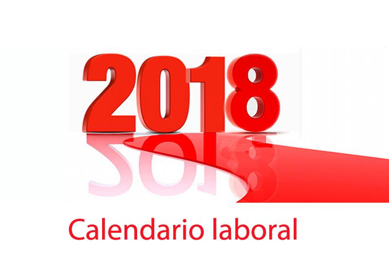 Calendario de festivos en  la Región de Murcia para 2018