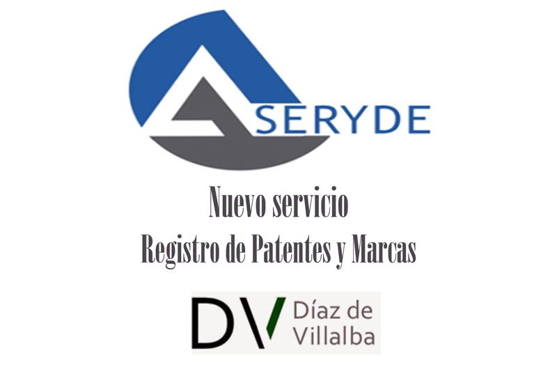 Aseryde incorpora un nuevo servicio de Registro de Patentes y Marcas