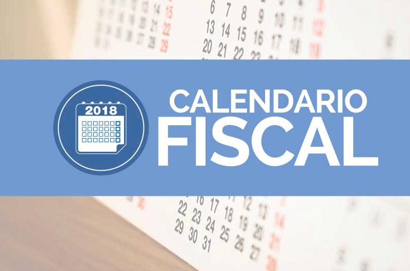 Calendario fiscal 2018 pymes y autónomos