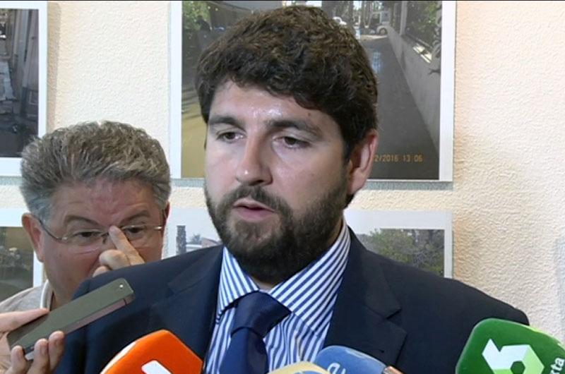 López Miras anuncia planes de empleo y rebajas fiscales