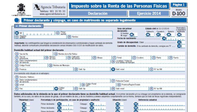 Hacienda cobrará menos por declarar el IRPF fuera de plazo