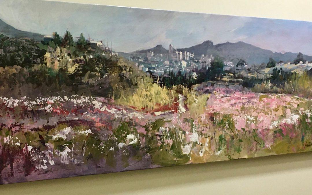 Exposición de La Floración, de José Semitiel Segura, para celebrar el 30 Aniversario de Aseryde