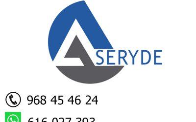 Atención telefónica en Aseryde: de 9 a 13 horas